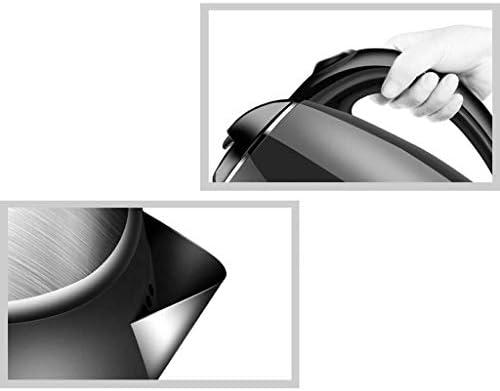 Bouilloire électrique Mise Hors Tension Automatique ménage Grande capacité 24 Heures Isolation 1500W Isolation intégrée en Acier Inoxydable 1,8l Blanc