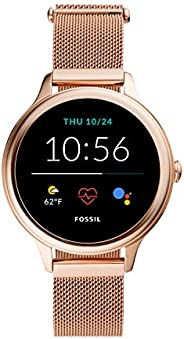 Fossil Women's Gen 5E 42mm Stainless Steel Touchscreen Smartwatch with Speaker, Heart Rate, Contactless Pa