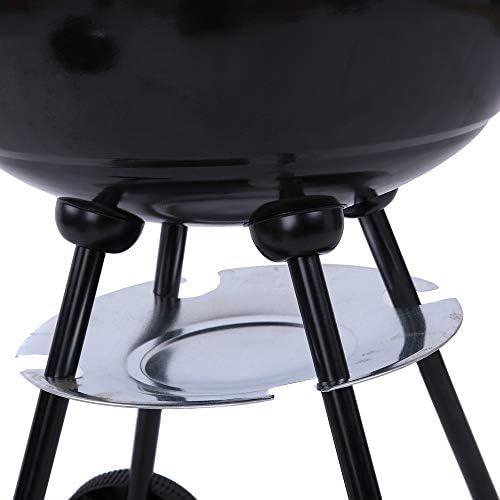 FGKLU Barbecue Extérieur pour Chariot - Barbecue au Charbon de Bois Portatif et Autonome pour Le Camping/Pique-Nique/Arrière-Cour/Jardin