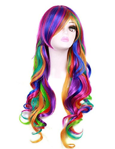For Female Costumes Cosplay (Colorful House Womens 28