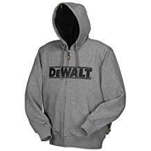 DEWALT DCHJ068B-XL 20-Volt/12-Volt Max Bare Heated Hoodie, X-Large, Grey