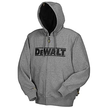 f0e6e36e4bff2 Amazon.com: DEWALT DCHJ068B-2XL 20V/12V MAX Bare Hooded Heated Jacket,  Gray, XX-Large: Home Improvement