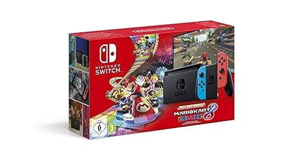 Console Nintendo Switch Mario Kart 8 Deluxe (Code de ...