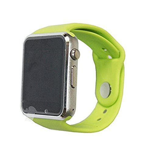Price comparison product image Alike C06 A1 SMART WATCH Men and Women Bluetooth Smart Watches Can Plug Mobile Phone Card Phone Camera Sport Watch Pedometer (green)