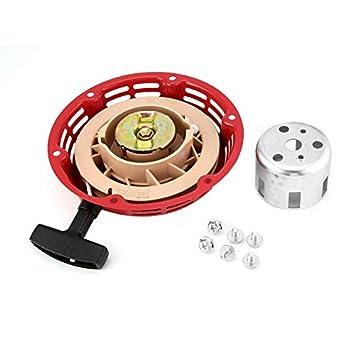 HermosaUKnight Tire del arrancador de Retroceso para Honda GX160 GX168 5.5/6.5HP Motor Motor