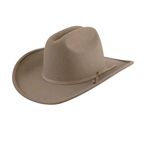 Eddy Bros. Children's Ranger Hat,Silver Belly,M-adult US