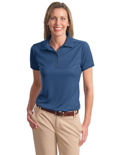 Port Authority Women's Port Authority Ladies Poly-Bamboo 3XL Moonlight Blue