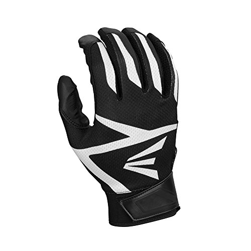 Easton Z3 Hyperskin Batting Gloves, black, Medium