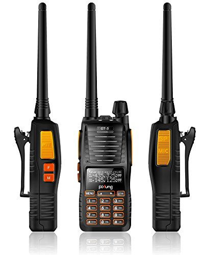 BaoFeng GT-5 Pofung Two-Way Radio Transceiver, Dual Band