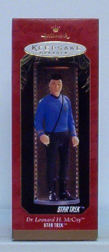 Dr. Leonard McCoy Figure by Hallmark (Trek Replicas Star)