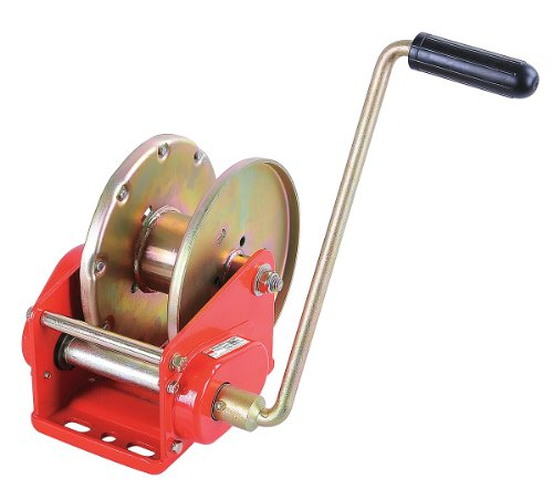 (Dayton 12U373 Manual Winch, HD Brake, Load Cap 3500 Lb)
