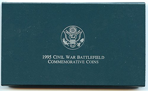 Commemorative Half Dollar Gem - 1995 Various Mint Marks Civil War Battlefields Commemorative Coins Gem Uncirculated