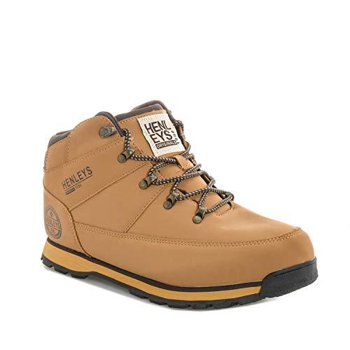 Woodland Boots Henleys Henleys Homme Woodland Homme Henleys Marron Boots Marron FYxOq0q