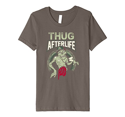 Kids The Thug Afterlife T Shirt Zombie 8 (Young Thug Halloween Costumes)