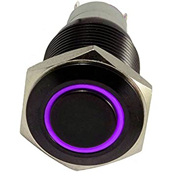 41Tah9n8jGL._SL500_AC_SS350_ amazon com e support™ 16mm 12v 3a car purple led light  at edmiracle.co