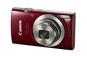 Canon PowerShot ELPH 180 1093C001 20.0 MP Digital Camera 8x Optical Zoom 2.7 in Display Base (Silver) from Canon