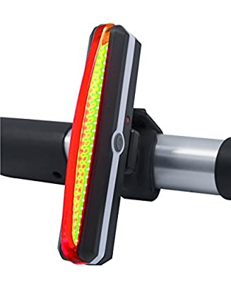 BRIGHTEST Rechargeable USB Rear LED Bicycle Light by LeTour. Cygolight Mount for Bike Frame or Helmet. Road Mountain BMX Kids. Flashlight Accessories & Parts. Cateye Cycle Reflector Tail Front