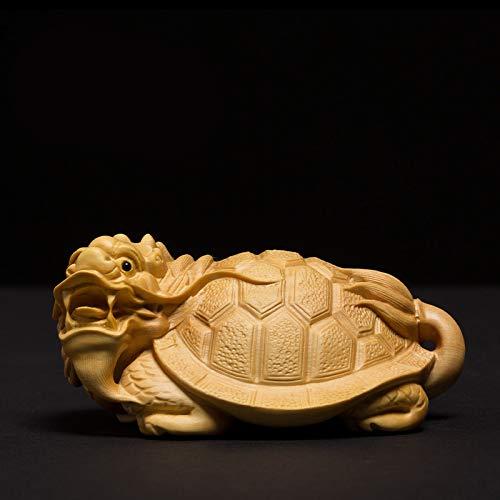 Rare china old boxwood hand carved myth eight immortals god