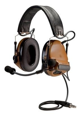 Peltor ComTac III Hearing Defender,Coyote Brown,1/case, MT17H682FB-09 MT17H682FB-09 CY by Peltor