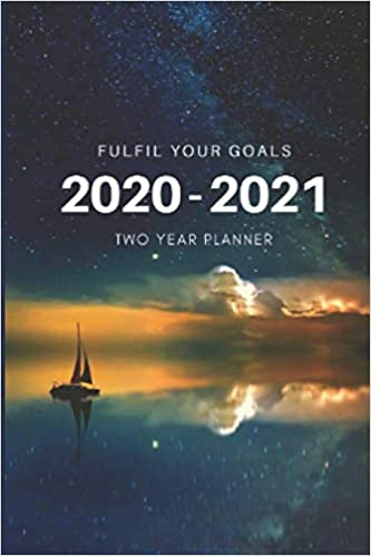2 Year Planner 2020-2021 Goals Two Years Monthly Schedule ...