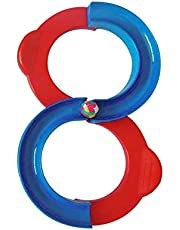 Sanwooden Toy Gift Track Toy Cute 8-Shape Pathway Orbit Track Kindergarten Training Device Kids Baby Toy Toys for All Ages