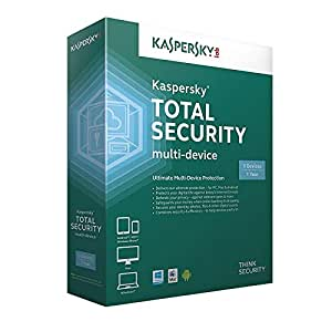 Kaspersky Total Security 2019 - 3 PC, 1 Year (Email Delivery in 24 hours- No CD)