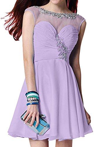 Lilac Topkleider trapecio Vestido para mujer nACqwzXC6