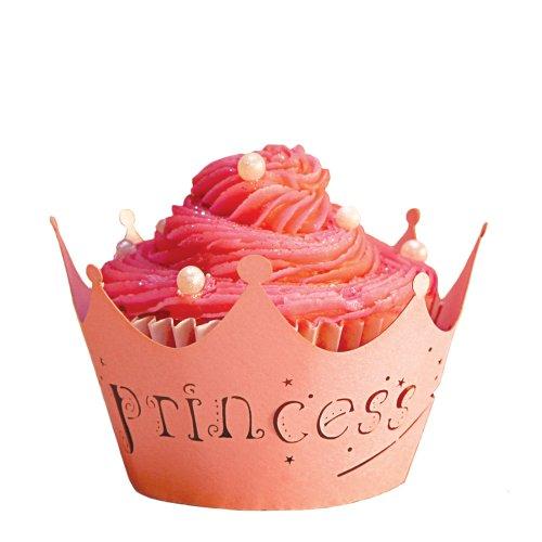 - Paper Orchid Princess Cupcake Wrapper Bubble Gum, Set of 12