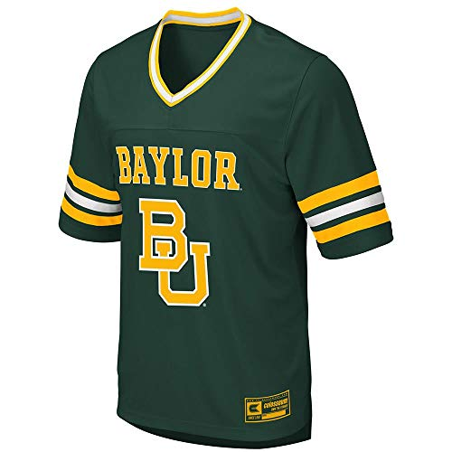 Colosseum Mens Baylor Bears Football Jersey - M ()