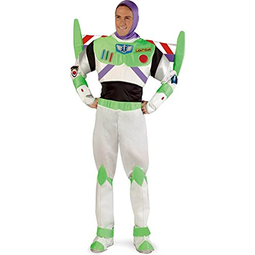 Costumes For All Occasions DG5984 Buzz Lightyear Prestige Adult (Buzz Lightyear Fancy Dress Adult)