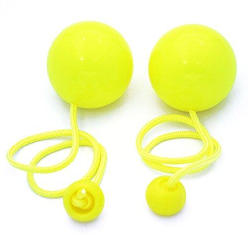 Play Juggling Contact Pendulum Poi 80mm (Yellow)