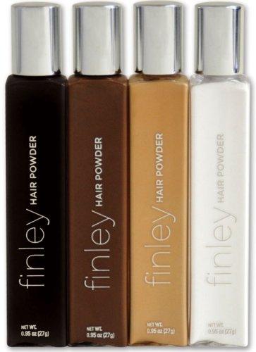 Finley Hair Powder Black| For shades of black hair | .71 oz | an alternative to dry shampoo| by Finley