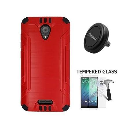 Amazon.com: teléfono Carcasa de goma para AT & T Prepago ...