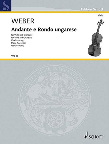 garese: Viola and Piano (Weber Classical Piano)