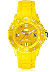 Ice-Watch Mens SI.YW.B.S.09 Sili Collection Yellow Plastic and Silicone Watch