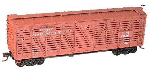 Accurail ACU4738 HO KIT 40' Wood Stock Car, PM