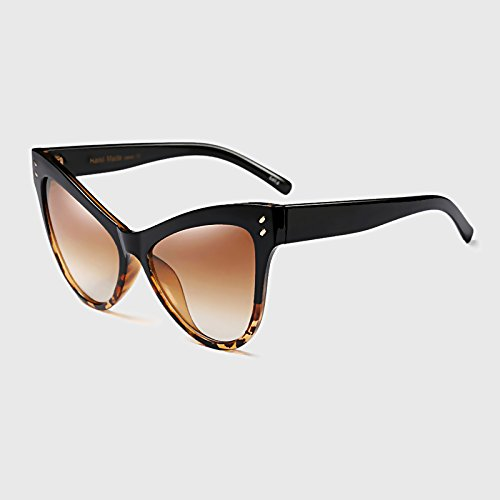 Modo Übergroße Marke Retro Weiblichen Cat KLXEB Sonnenbrille C2 Eye Designer Frauen Durchbohrten C2 Brillen d58Y8qwB