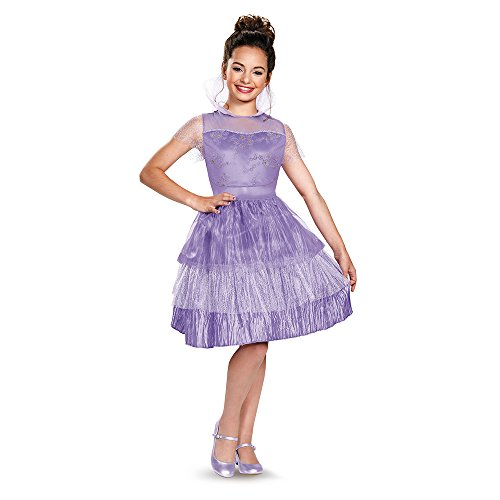 Disguise 88134G Mal Coronation Deluxe Costume, Large (Mal Disney Descendants Costume)