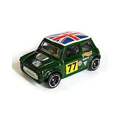 Hot Wheels Morris Mini Hw Workshop 194/250 Green: Toys & Games