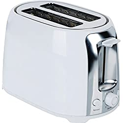 2SLC COOLTOUCH TOASTR WHT, 2-Slice Cool Touch Toaster (White & Stainless Steel), Stainless steel Elegant combination of white & stainless steel sesign , Large body , Wide slots for gourmet breads ,…