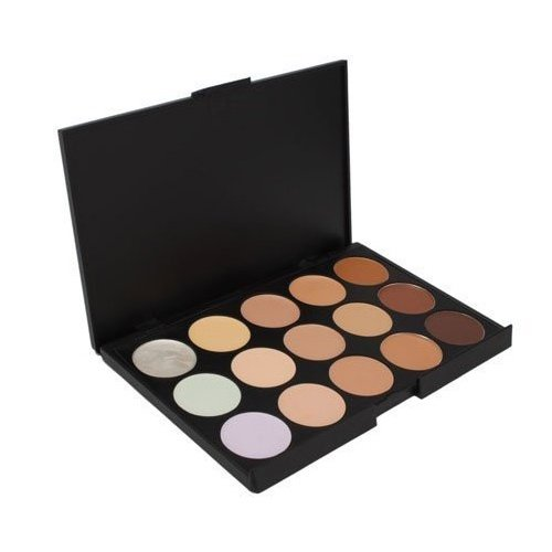 SODIAL (TM) Professional Concealer de 15 couleurs de maquillage de camouflage Palette