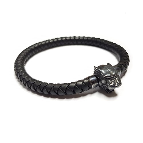 Memorine Panther MASCOT with Leather Bracelet