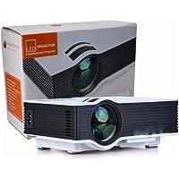 Mini Projetor Led Portatil Filmes Hdmi Usb 1080p 130 Polegada 800 Lumens Uc40 Bivolt