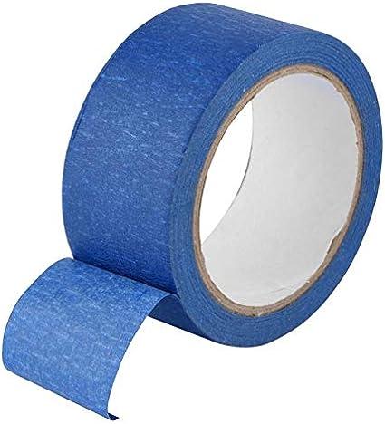 Andifany 48Mm X 30M Cinta Adhesiva Azul Adhesiva Resistente Papel ...
