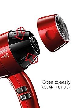 Valera SXJ 8500 RC secador Swiss Silent Jet 8500 Ionic, 2000 W: Amazon.es: Salud y cuidado personal