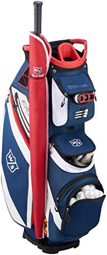- Wilson Staff EXO Cart Golf Bag, Navy