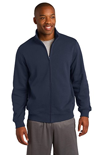 Sport-Tek Men's Full Zip Sweatshirt - True Navy ST259 M