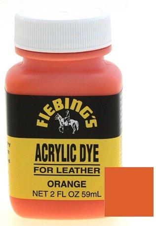 orange leather dye - 2
