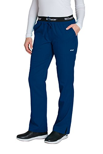 Price comparison product image Barco Grey's Anatomy Active 4275 Drawstring Scrub Pant Indigo XS Petite
