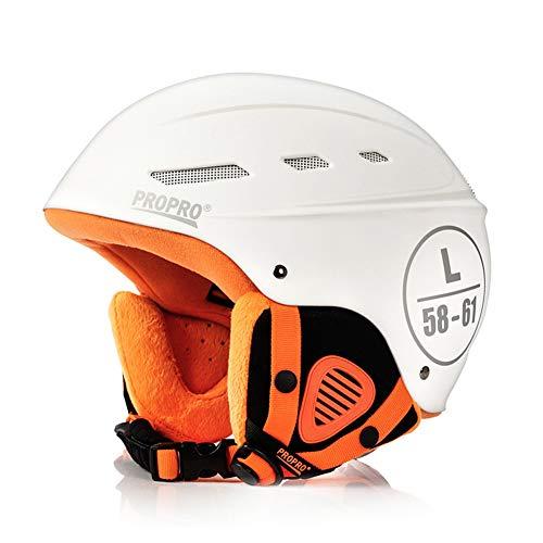 Cascos De Esquí, Cascos De Snowboard Con Forro Desmontable, Cascos Ligeros Para Damas Compatibles Con Gafas De Esquí Y...